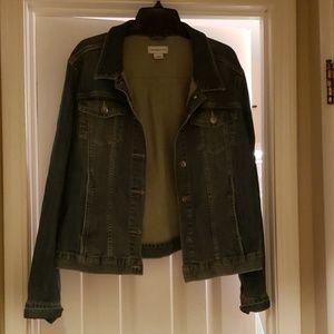 Liz Claiborne jean jacket